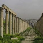Romerska huvudgatan. Jerash