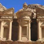 Klostret Ad-Deir. Petra (U)