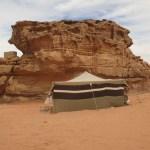 """Mitt"" tält. Öknen Wadi Rum (U)"