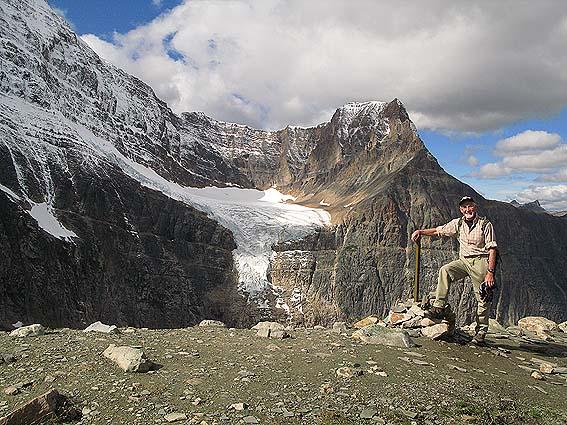 Berget Edith Cavell. Jasper National Park (U)