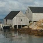 Fiskebodar. Peggys Cove (NS)