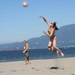 Beachvolley. Vancouver