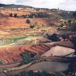 Landskapsvy. Yunnan