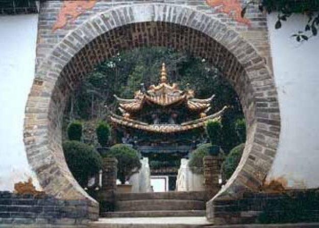 Tempel. Tonghai