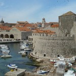Del av stadsmuren. Dubrovnik (U)