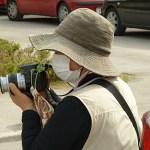 Japansk turist. Zadar