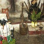 Santerialokal. Havanna