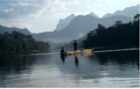 Drömlandskap. Nong Khiaw