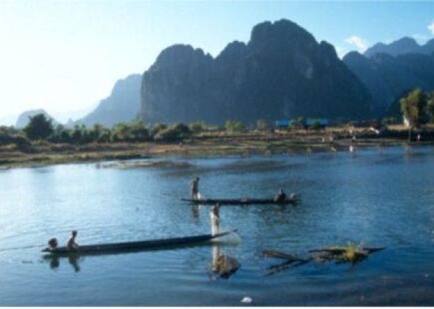 Drömlandskap. Vang Vieng