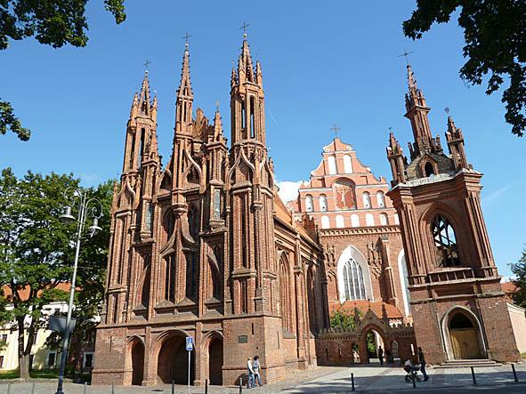 St Annas kyrka. Vilnius