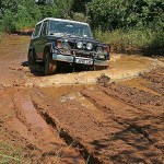 Vägen till Tsingy de Bemaraha