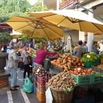 Den berömda marknaden Mercado dos Lavradores. Funchal