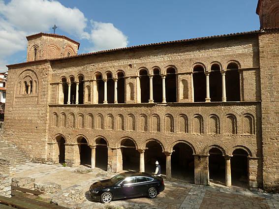 Kyrkan Sv Sofia. Ohrid (U)