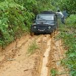 Vägen var dålig! Cameron Highlands
