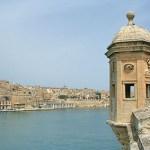 Vy mot Valletta. Senglea