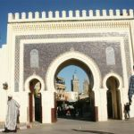 Stadsporten Bab Bou Jeloud. Fez (U)
