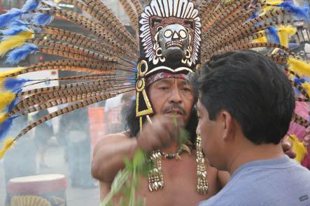 Schaman. Mexico City