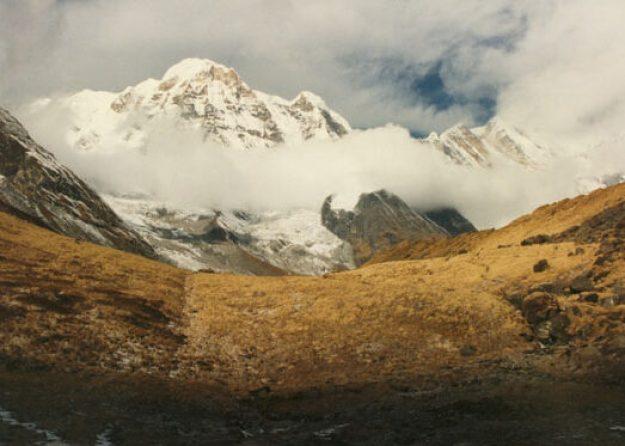 På väg till Annapurna Base Camp