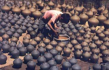 Potters Square. Bhaktapur