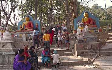 Swayumbhunath. Kathmandu (U)