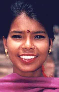 Newarkvinna. Kathmandu