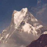 "Machhapuchhare, ""Fishtail Mountain"""