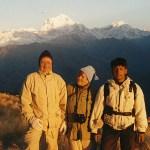 Vy över Dhaulagiri från Poon Hill