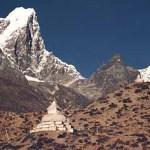 Berget Tawoche. Dingboche. Sagarmatha National Park (U)