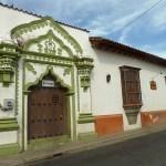 Kolonialt hus. Leon