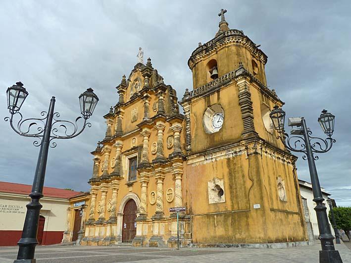 Iglesia de La Recoleccion. Leon