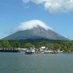 Vulkanen Concepcion. Isla de Ometepe