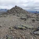 Toppen av Veslfjell, 1 743 möh. Jotunheimen Nasjonalpark