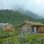 Gammal gård. Jotunheimen