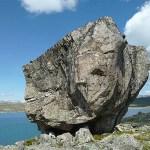 """""""Stoneface"""". Sognfjellshytta"""
