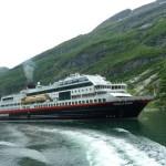 M/S Trollfjord i Geirangerfjorden (U)