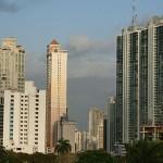 Höghus. Panama City