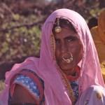 Kvinna. Jaisalmer