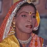 """""""Kvinnlig"""" dansare. Jaisalmer"""