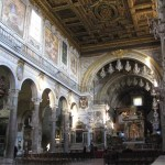 Kyrkan Santa Maria in Aracoeli. Capitolium (U)