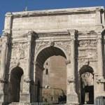 Septimus Severus triumfbåge. Forum (U)