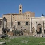 Vy från Forum. Rom. Italien (U)