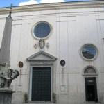 Elefantobelisken och kyrkan Santa Maria Sopra Minerva (U)