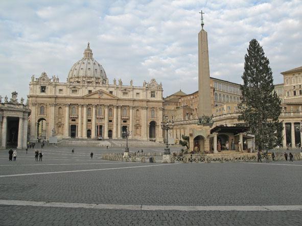 Peterskyrkan. Vatikanen (U)