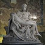 "Michelangelos ""La Pieta"". Peterskyrkan. Vatikanen (U)"