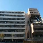 Sönderbombat hus. Belgrad
