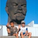 Världens största Leninhuvud. Ulan Ude