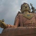 Den helige Padmasambhava. Namchi