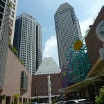 Millennium tower. Singapore