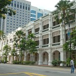 Raffles Hotel. Singapore