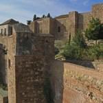 Alcazaba, den arabiska borgen. Malaga